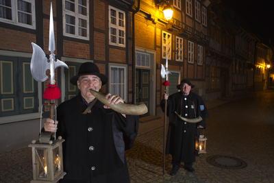 Öffentlicher Nachtwächterrundgang durch Hornburg