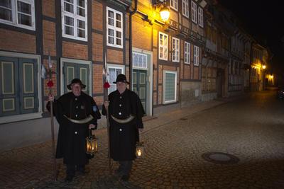 Öffentliche Nachtwächterrundgänge durch Hornburg