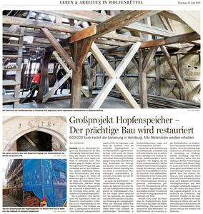 Pressebericht - Großprojekt Hopfenspeicher