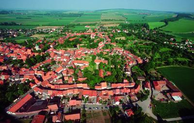 Hornburg von oben