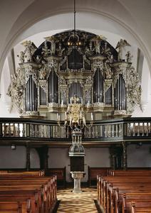Orgel in der Beatae Mariae Virginis Kirche
