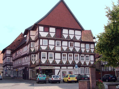 Häuser auf dem Marktplatz
